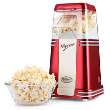 NOSTALGIA ELECTRICS Hot Air Popcorn Maker Corn Popper Machine For Home Office