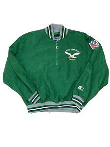 Vintage Philadelphia Eagles Starter Windbreaker Jacket L NWOT RARE 90s