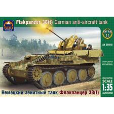 Flakpanzer 38(t) Gepard Tank Model Kit 1/35 Scale - Sd Kfz 140 Ausf M Gepard