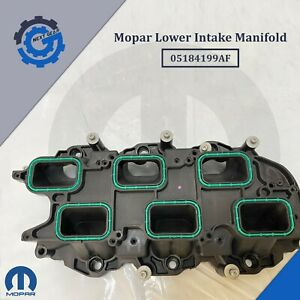 New OEM Mopar Lower Intake Manifold 05184199AF 2011-2020 Chrysler Dodge Jeep RAM