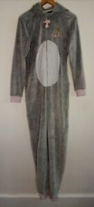 Ladies/girls Disney Thumper Rabbit hooded grey all in one size small