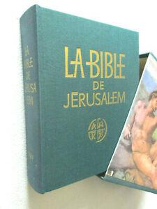 LA BIBLE DE JERUSALEM éditions DU CERF
