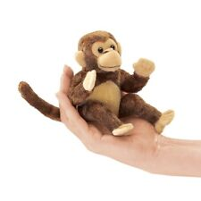 Monkey Finger Puppet, Folkmanis Puppets MPN 2738, 3 & Up, Boys & Girls