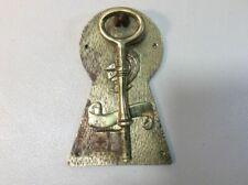 Brass Door Knocker Key And Knight Theme B6