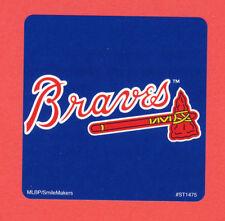 10 Atlanta Braves Logo - Large Stickers - Major League Baseball