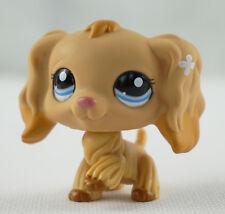 Tan Cocker Spaniel Dog Littlest Pet Shop LPS 1716 Caramel Tipped Ears Kids Toys