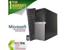 Refurbished Dell OPTIPLEX 980 Tower Intel Core I7 860 2.8G / 8G DDR3 / 2TB / DVD