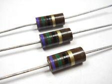K25 NOS, New Old Stock Resistor 20 Ohm 1//2 Watt 5/% Carbon Film QTY 100 ea