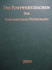 JAHRBUCH Die Sonderpostwertzeichen der deutschen Post 2009 komplett **