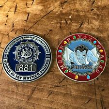 New York City Nypd Ny Police Challenge Coin Christmas Die Hard Detective