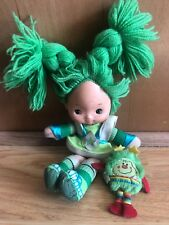 Rainbow Brite Patty O'Green Doll Green Vintage Hallmark Mattel Bright + Sprite