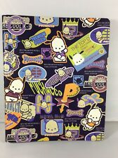 Vtg Pochacco the Cool K-9 Sanrio 3 Ring Binder 1989,1997