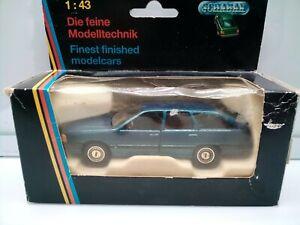 Schabak 1:43 Scale - 1980s Audi 100 Avant - Station Wagon - Blue - Model Car