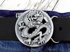 Gürtelschnalle Chinesischer Drachen Spiry Dragon Wechselschnalle für 4cm Buckle