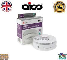 Aico EI2110e Multi-Sensor Fire Alarm(SMOKE FIRE & HEAT) 10year rechargeable cell