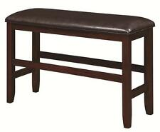 Dupree Casual Upholstered Counter Height Dining Bench by Coaster 105477