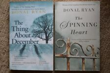 2 Bücher von DONAL RYAN: The Thing About December/The Spinning Heart. SIGNIERT!