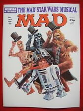 MAD MAGAZINE #202 ~ FEB 1979 ~ THE MAD STAR WARS MUISCAL SPECIAL ISSUE ~FANTASY