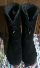 Domino Womens Vintage Style Suede Leather Ankle Boots Uk Size 6 Great Condition