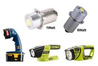 RYOBI ONE+ Plus 18V Flashlight LED Replacement Bulb P13.5S 1 Watt or 5 Watt NEW