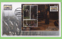 New Zealand 2002 Lord of the Rings, Northpex m/s on First Day Cover