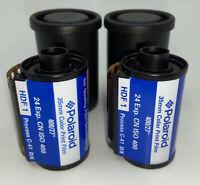 Polaroid 35MM Color Print Film  C-41 24 exposure ISO 400 Vintage *Lot of 2*