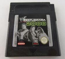 J238 ⭐⭐ NINTENDO GAMEBOY WWE WRESTLEMANIA 2000 ⭐⭐