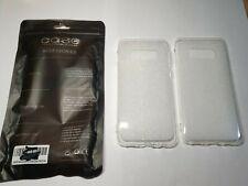 2 Pack Samsung Galaxy S10 claro a prueba de choques Suave TPU Gel Funda Protectora De Teléfono Nuevo