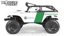 Axial SCX10 II Deadbolt Body Graphic Wrap Skin - Border Patrol