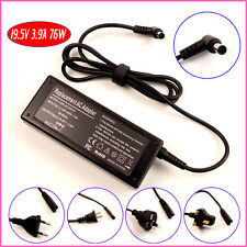 New 19.5V 3.9A AC ADAPTER FOR SONY VAIO VGP-AC19V20 VGP-AC19V19 CHARGER LAPTOP