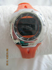 CALYPSO( PART OF THE FESTINA WATCH GROUP) MENS ORANGE STRAP WATCH GREAT FOR XMAS