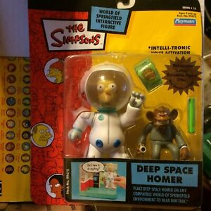 Simpsons World of Springfield Deep Space Homer. Sealed-Free SH