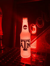 NCAA Texas A&M Aggies Football 12oz Beer Bottle Light LED March Madness