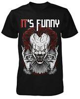 IT is funny Herren Horror Clown T-Shirt | ES | Fun Shirt | Horror-Fan | Film