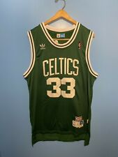 Larry Bird Boston Celtics Basketball Jersey Mens Large