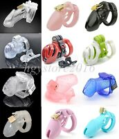 All Types Male Portable Chastity Device Bird Cage Lock Restraints Bondage SM Toy