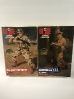 GI JOE Classic Collection US Army Infantry & Australian ODF 1996 Limited Edition