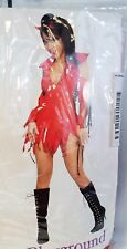 Rubies Secret Wishes She Devil's Playground Teen Cosplay Costume New Small 2 - 6