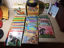 Rare Lot Little Golden Book & Case Records & DISNEY Storybooks & Winnie the Pooh