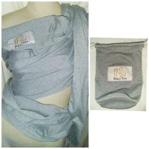 MOTHERS TOUCH BABY SLING CARRIER GREY PREMATURE BABY TO 35LBS BNIB INSTRUCTIONS