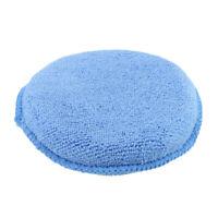 3 Pcs Cleaning Microfiber Foam Sponge Detailing Waxing Applicator Car