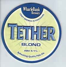 WHARFE BANK BREWERY (POOL IN WHARFEDALE) - TETHER BLOND (1) - PUMP CLIP FRONT