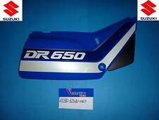 FIANCATINA CAR  DESTRA SIDE COVER RIGHT SUZ. DR 650 RS BLU 90/91 47111-12D00-0NF
