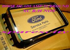 FORD FALCON FAIRMONT RIM HEADLAMP Right Hand CHROME with base BRAND NEW NOS