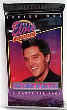Elvis Presley 1992 Series #1 Unopened Pack 12 Cards #1