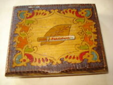 OLD BULGARIAN  WOOD BOX  WOOD CIGARETTE BOX HANDCRAFT