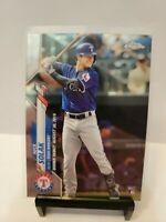 NICK SOLAK 2020 TOPPS CHROME UPDATE ROOKIE #60 TEXAS RANGERS