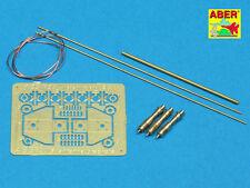 U.S. antenne con staffe PC (x3) per Sherman, Lee, Wolverine... #35r25 1/35 Aber