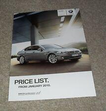 BMW 5 Series F10 Saloon Prices - 523i 528i 535i 550i 520D 525D 530D SE 2010