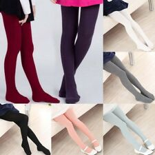 Winter Warm Knit Girl Kid Skinny Thick Tights Pantyhose Stockings  Footed Socks.